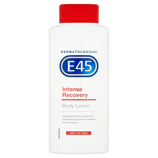 E45 Intense Recovery Lotion Fragrance Free 400Ml