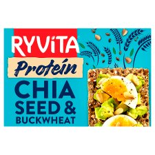 Ryvita Chia Seed And Buckwheat Protein Crisp Bread 200G