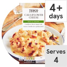 Tesco Cauliflower Cheese 600G