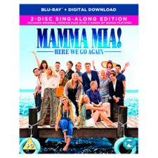 Mamma Mia: Here We Go Again! Blu-Ray 2Disc
