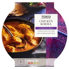 Tesco Indian Chicken Korma 460G