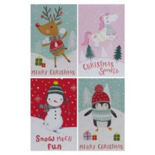 Tesco Chilly Tall Cards 20 Pack
