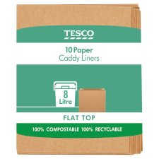 Tesco 10 Paper Caddy Liners