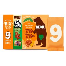Bear Yoyo Mango 9Pack 180G