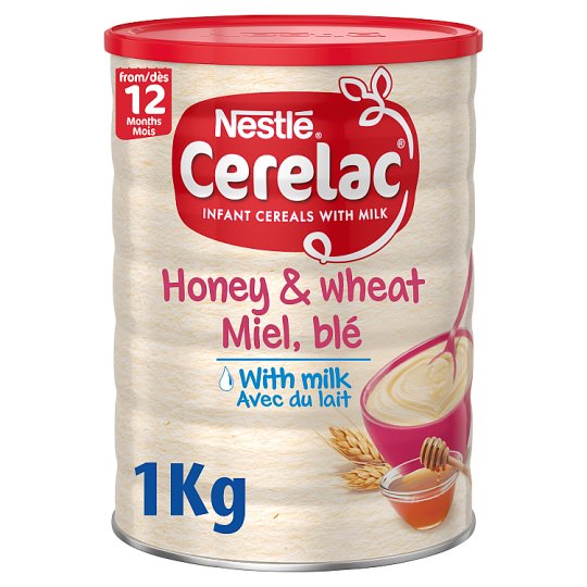 Nestle Cerelac Honey And Wheat Baby Food 1kg Tesco Groceries
