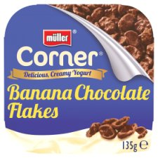 Muller Corner Banana Yogurt Crunch Yogurt 135G