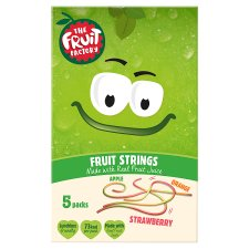 Fruit Factory Multi Fruit Strings 5 Pack 100G
