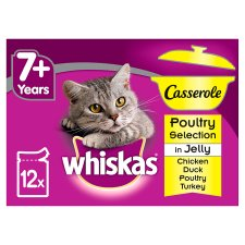 Whiskas Casserole Poultry In Jelly 12 X 85G