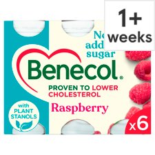 Benecol Raspberry No Added Sugar 6 x 67.5g