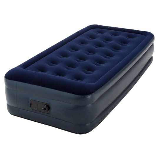 Tesco Raised Single Airbed With Pump