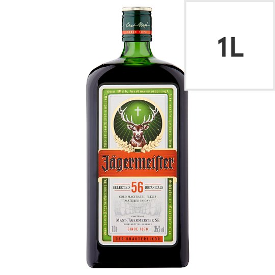 Jagermeister 1 Litre Bottle