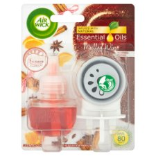 Airwick Air Freshener Mulled Wine Plug Kit 19Ml