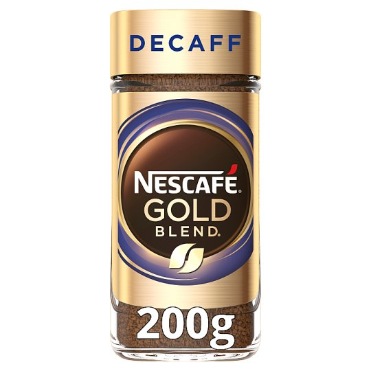 image 1 of Nescafe Gold Blend Decaffeinated Instant Coffee 200G
