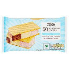 Tesco Ice Cream Wafers 50'S