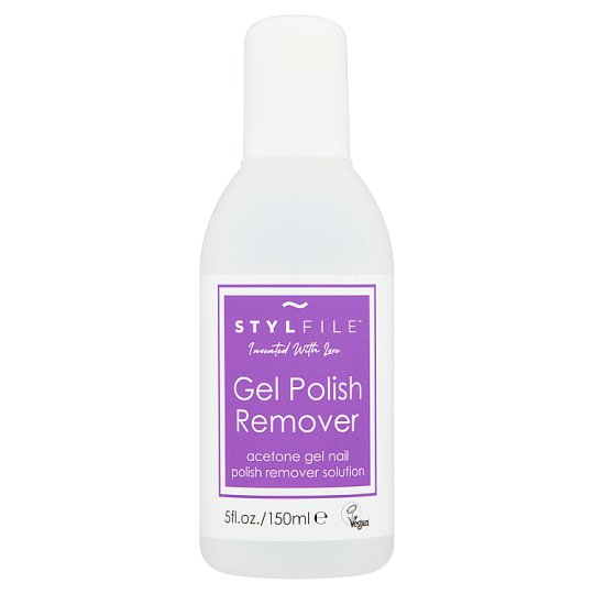Stylfile Gel Polish Remover 140ml Tesco Groceries