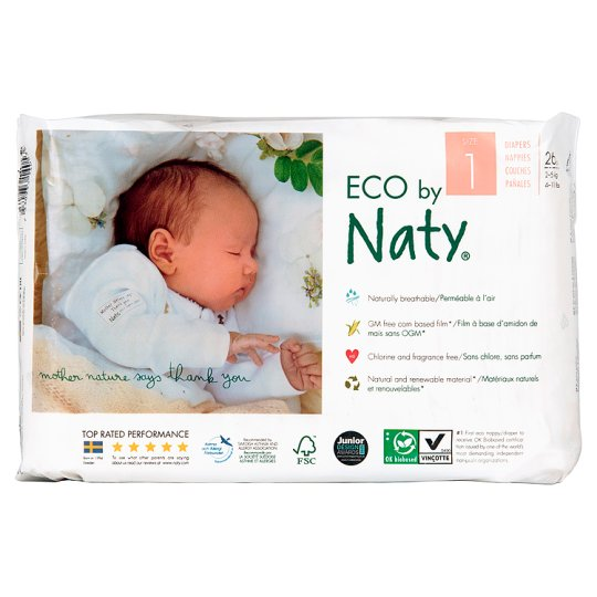 Nature Boy And Girl Nappies Newborn 26