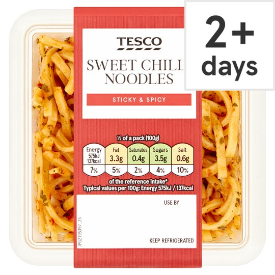 Tesco Sweet Chilli Noodles Salad 200G