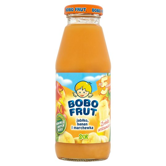 Bobo Frut Apple Banana And Carrot Juice 300Ml