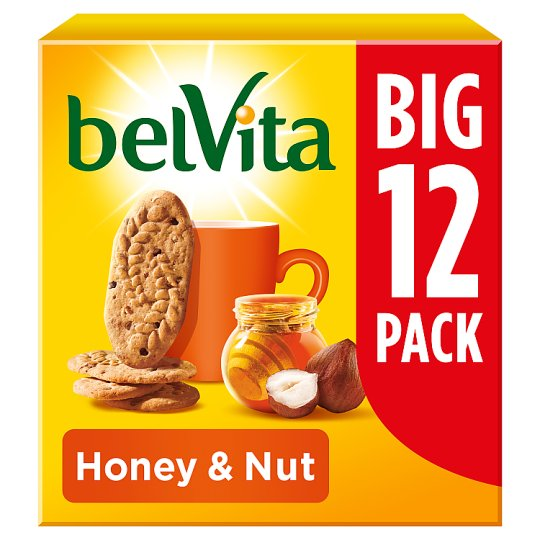 image 1 of Belvita Honey And Nut Biscuits 540G