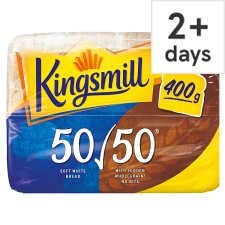 Kingsmill Small 50/50 Bread 400G