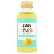 Tesco Sicilian Lemon Extract 60Ml