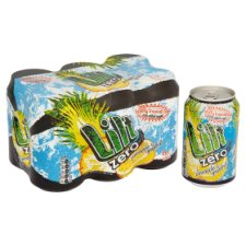 image 1 of Lilt Zero Pineapple And Grapefruit 6 X 330 Ml