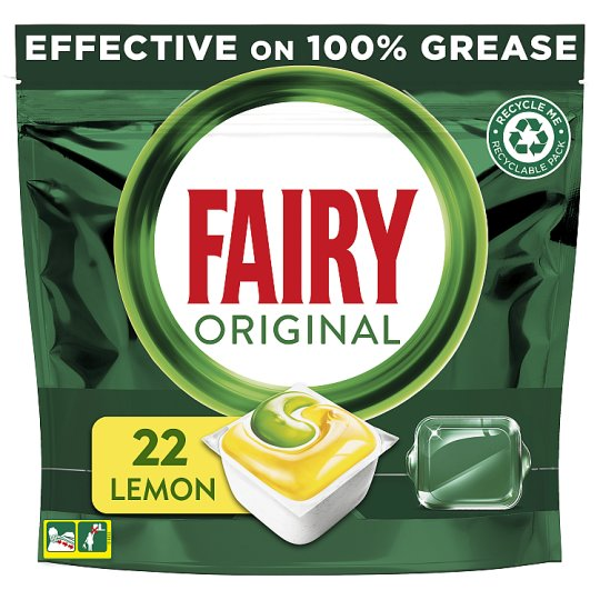 Fairy All In One Lemon 22 Dishwasher Tablets