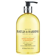 Baylis & Harding Mandarin & Grapefruit Hand Wash 500Ml
