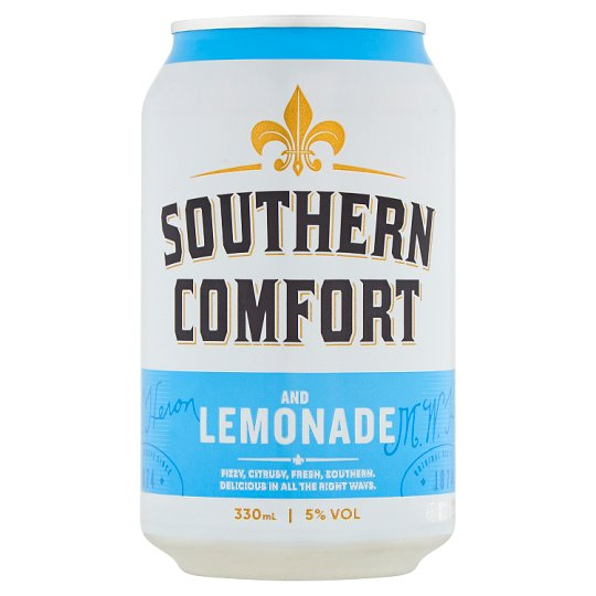 Southern Comfort Lemonade And Lime Can 330Ml