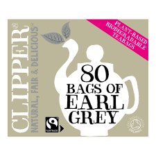 Clipper Organic Earl Grey 80 Tea Bags 200G