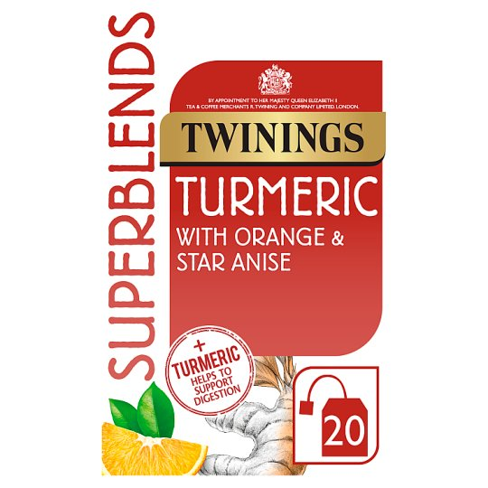 Twinings Superblends Turmeric 40G
