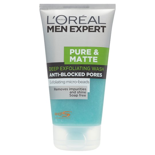 image 1 of L'oreal Paris Pure And Matte Scrub Face Wash 150Ml