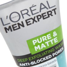 image 2 of L'oreal Paris Pure And Matte Scrub Face Wash 150Ml