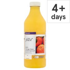 Tesco Finest Orange Juice Smooth 1 Litre