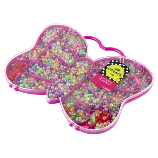 Tesco Go Create Butterfly Bead Case