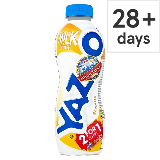 Yazoo Chilled Banana Flavour Milkshake 400Ml