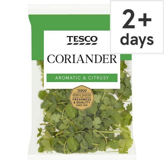 image 1 of Tesco Fresh Cut Coriander 30G