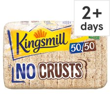 Kingsmill 50/50 No Crusts Bread 400G