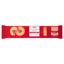 Tesco Jam Sandwich Creams Biscuit 150G