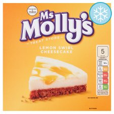 Ms Molly's Lemon Swirl Cheesecake 375G