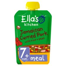 Ella's Kitchen Stage 2 Jamaican Pork 130G