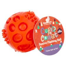 Rosewood Cupid&Comet Red Flashing Dog Toy