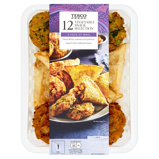 Tesco 12 Indian Snack Selection 326G