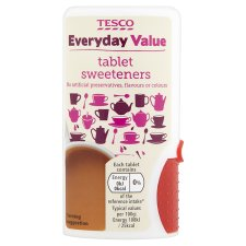 Tesco Everyday Value Sweeteners 850'S