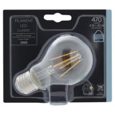 Tesco Led Filament Classic 40W Edison Screw
