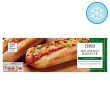 Tesco Deli Hot Dog Baguette 150G