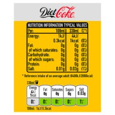 image 3 of Diet Coke Mango 4X330ml