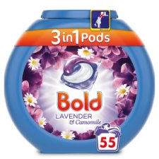 Bold 3In1 Pods Lavender 55 Washes