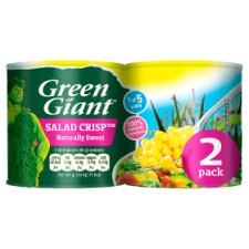 Green Giant Salad Crisp Sweetcorn 2 X160g