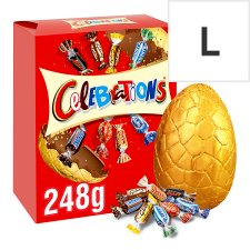 Celebrations Large Milk Chocolate Easter Egg And Chocolates 248G